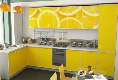 """Кухня """"Сочные лимоны"""""""